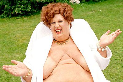 <i>Little Britain</i> star Matt Lucas has battled with his weight, but even he had to don a fat suit to play Bubbles Devere, an obese Eurotrash layabout who isn't ashamed to get her kit off.