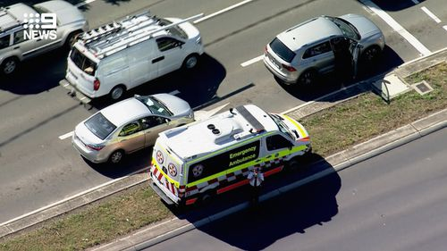 A girl has died after being hit by a car in Sydney's west.