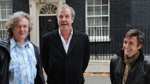 Top Gear trio sign 'record-breaking deal' with Amazon for new show