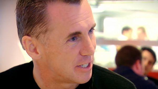 British celebrity chef Gary Rhodes on Gordon Ramsey's show