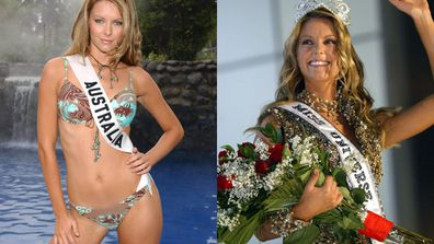 <br/>Ten years ago, a Newcastle Knights cheerleader was crowned Miss Universe at the prestigious parade in 2004. <br/><br/>And just like that, Jennifer Hawkins became a household name… alongside her pageant predecessors Jesinta Campbell and Erin McNaught. <br/><br/>But what happened to all the local hotties who bagged the beauty title? <br/><br/>From the model-turned-med student to the cricketer's WAG, flick through our Miss Australia hall of fame since Jen's infamous reign... <br/>