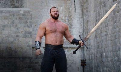 <strong>Hafbor 'Thor' Bjornsson, strongman</strong>