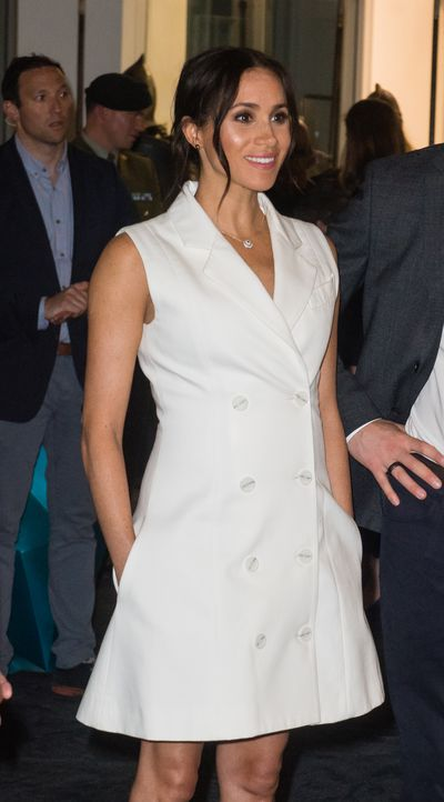 Meghan, Duchess of Sussex visit Courtnay Creative for an event celebrating the city's thriving arts scene on October 29, 2018 in Wellington, New Zealand.