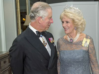 Prince Charles and Camilla mark their 10th wedding anniversary, April 2015