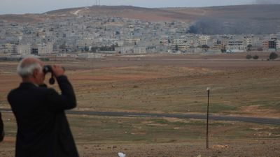 """Observatory director Rami Abdel Rahman said that the """"vast majority"""" of jihadists killed in the strikes were not Syrians but foreign fighters who had joined ISIL and Nusra in the country. (AFP)"""