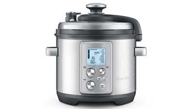 "<p>Category: Best Pressure Cooker</p> <p>Winner: Breville Fast Slow Pro BPR700, <a href=""https://breville.com.au/products/the-fast-slow-pro"" target=""_top"">breville.com.au</a>, $349.95.</p>"