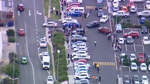 DFO Brisbane has been evacuated. (9NEWS)