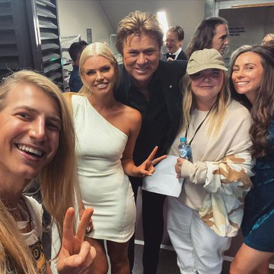 Christian Wilkins, Sophie Monk, Richard Wilkins, Tones and I and Amy Shark