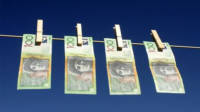 Money laundering: one mother breaks down the cost of living to her kids. Image: Getty