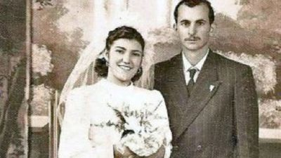 Brazilian couple Italvino and Diva Possa tied the knot in 1948.