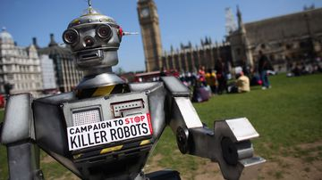 'Killer robots' ban stalled by Australia and military giants