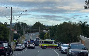 Streets in lockdown as person held hostage inside Brisbane home