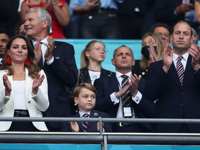 Prince George attended the FIFA2020 final with parents Prince William and Kate Middleton.