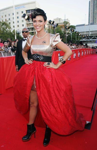 Ruby Rose at the 2009 MTV Australia Awards