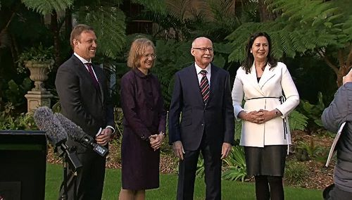 """Queensland Premier Annastacia Palaszczuk regarded Dr Young as """"the people's governor"""" and said she had been with Queenslanders through every step of the pandemic."""