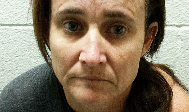 Kirsten Wallace was arrested at her home. (California Department of Insurance)