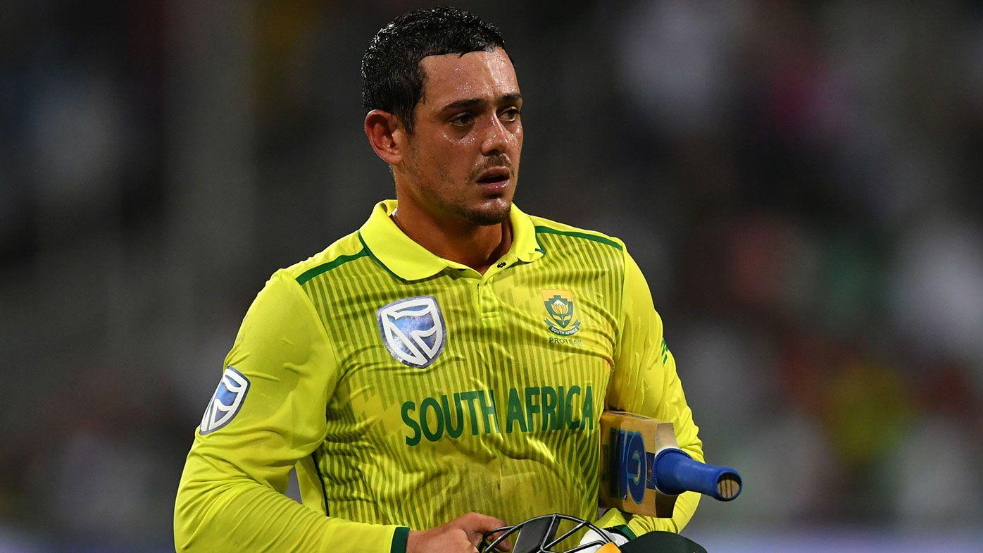 Quinton de Kock of South Africa