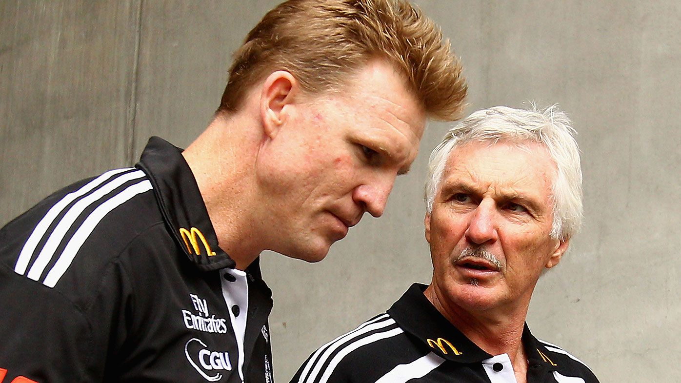 Nathan Buckley and Mick Malthouse