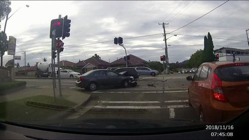 A Sydney man who allegedly stole two cars and took them on a reckless joyride resulting in two collisions has been charged by police.