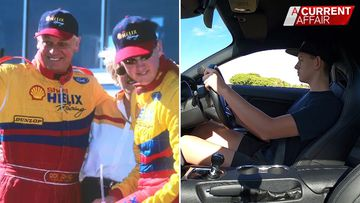 Next generation in motor racing takes the wheel
