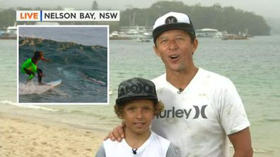 Young surfer's brush with a great white shark