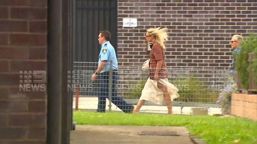 Phoebe Burgess at court in Moss Vale today.