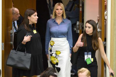 Ivanka at the 74th Session of the United Nations General Assembly at the United Nations Headquarters.