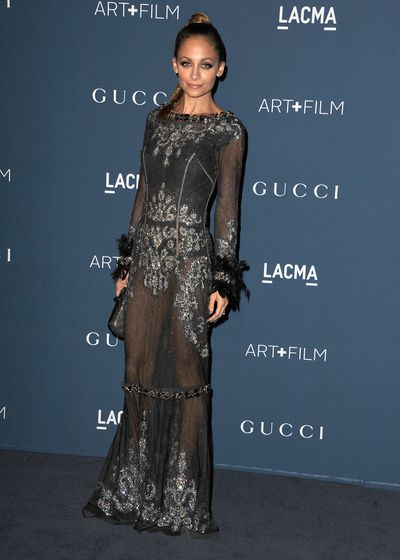 Nicole Richie at the 2013 Art + Film Gala in Los Angeles, Novembe, 2013