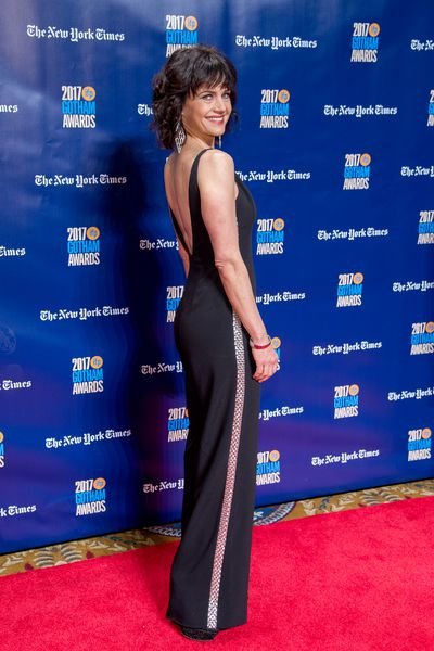 Carla Gugino in Genny at the 2017Gotham Awards