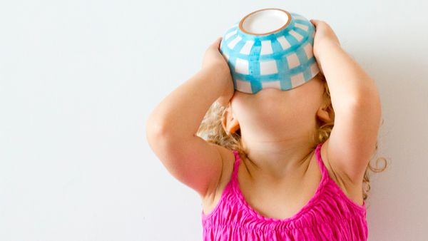 Bottoms up: embark on a gastronomic journey with your child. Image: Getty