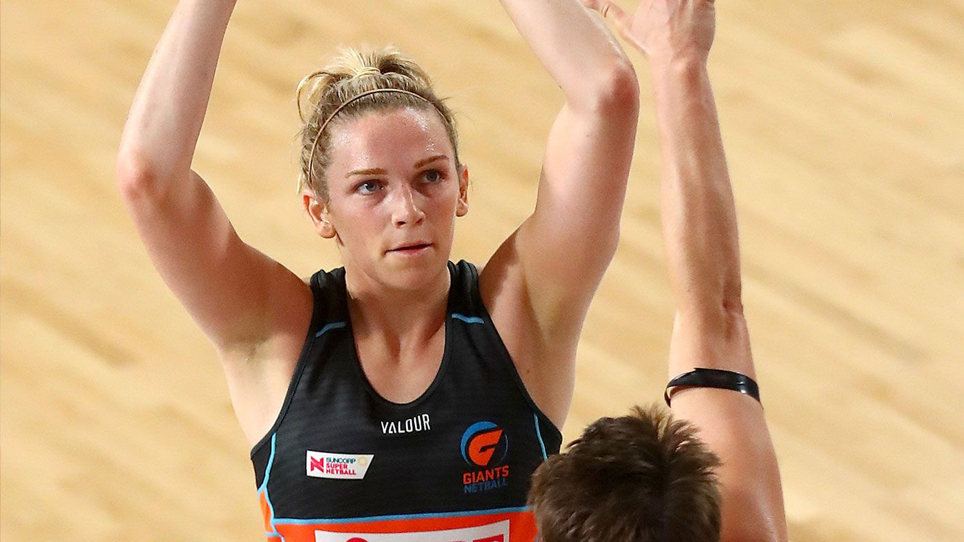 Giants Jo Harten's blunt response to Super Netball's Super Shot rule
