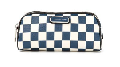 "<a href=""http://www.farfetch.com/au/shopping/women/marc-by-marc-jacobs-sophisticato-checkboard-big-bliz-cosmetic-bag-item-10943814.aspx?storeid=9724&amp;ffref=lp_5_4_""> Sophisticato Checkboard Big Bliz Cosmetic Bag, $123.31, Marc by Marc Jacobs</a>"