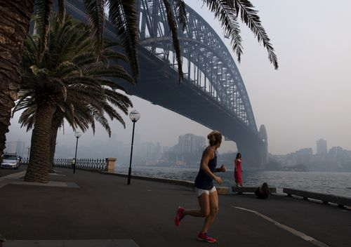 Elevated fire danger adds to NSW smoke risks