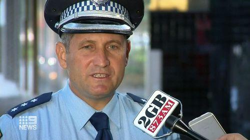 NSW Police Inspector Gary Coffey.