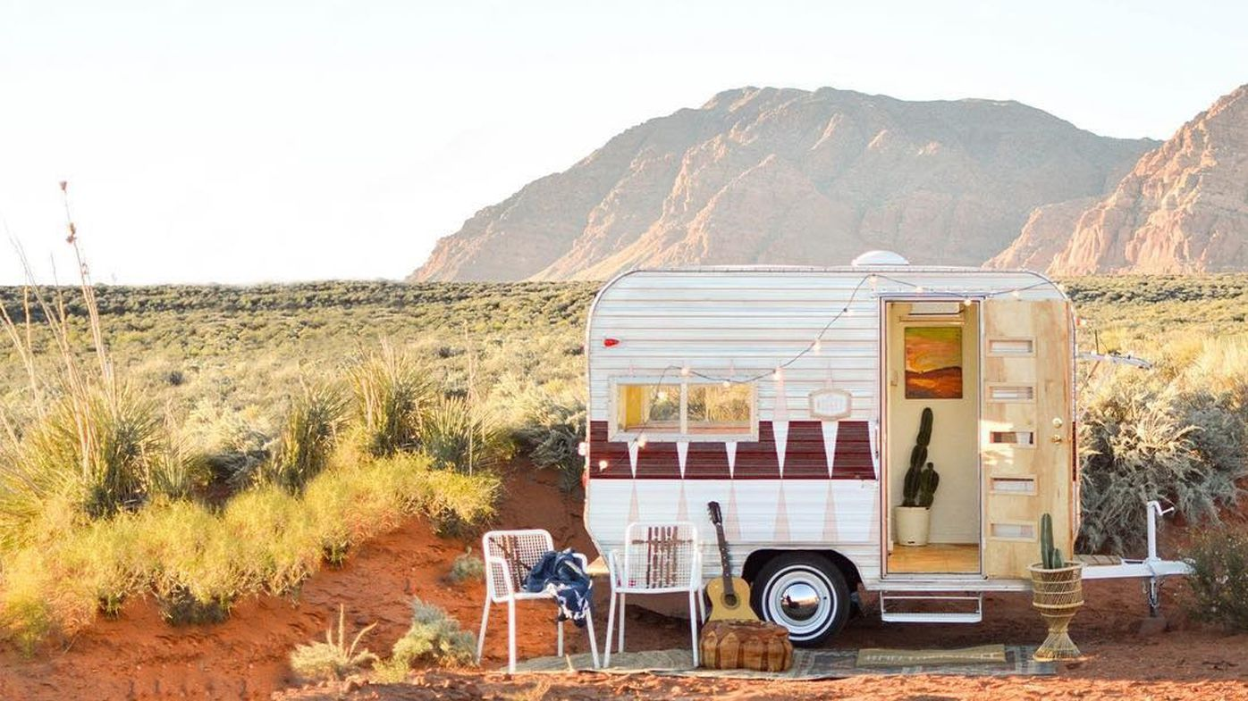vintage revivals retro camper