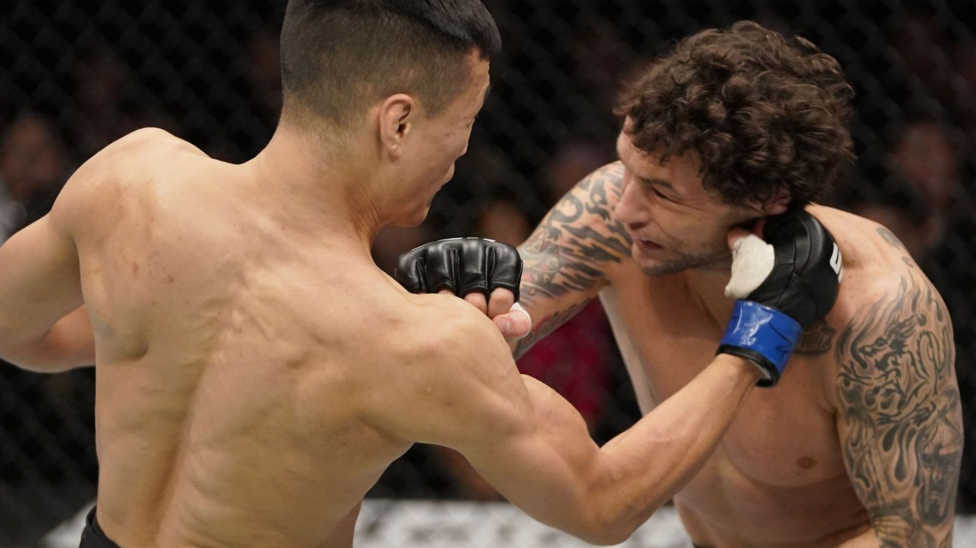 'Korean Zombie' TKOs Frankie Edgar in featherweight main event of UFC Busan