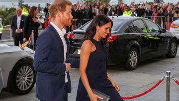 Meghan re-wears designer frock, as Harry makes cricket quip