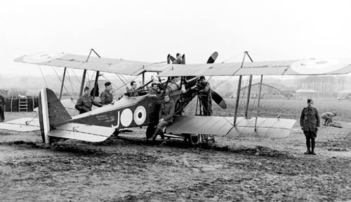 Aircraft such as this British Sopwith Camel were used early in the battle as a diversion. (Photo: AWM).