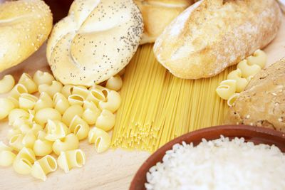 Pasta and other refined carbs