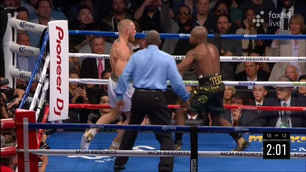 Mayweather declared winner over McGregor