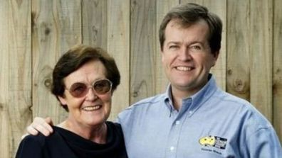 Bill Shorten and his mother.