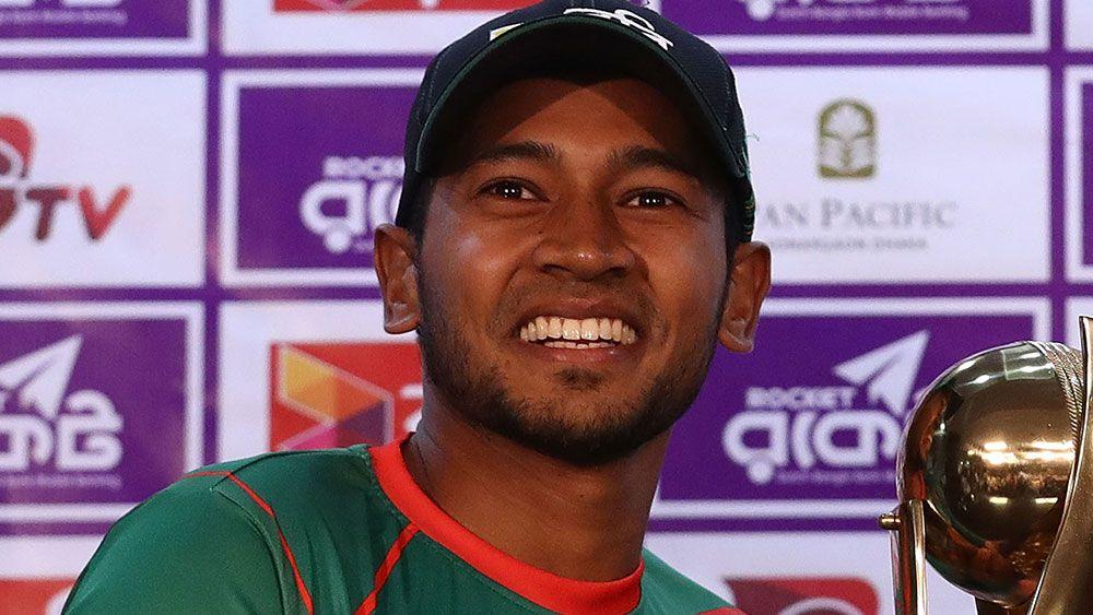 Lyon claims five wickets, Bangladesh 6-253