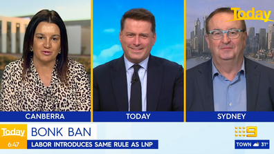 It started innocently enough, with Jacqui Lambie appearing alongside Australian radio broadcaster Chris Smith (right).