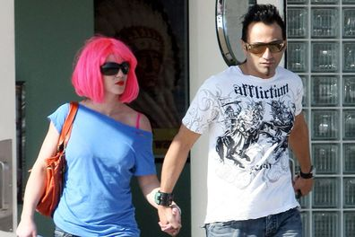 Her sleazy paparazzo ex <b>Adnan Ghalib</b> tried to sell a video of himself doing the deed with a pink wig-wearing Britney back in 2008. The footage never surfaced.