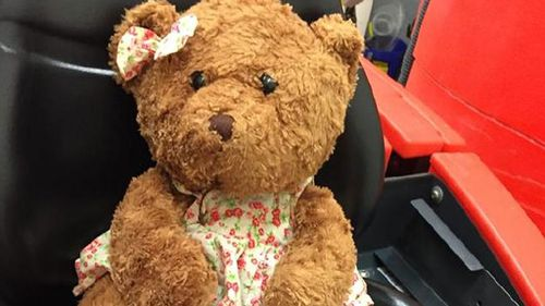 Man starts social media campaign to find owner of lost teddy bear at Perth airport