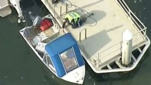 Elderly couple rescued after boat capsizes off beach in Melbourne's south-west