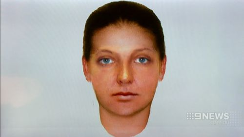 Police have released an image of what the woman may look like. (9NEWS)