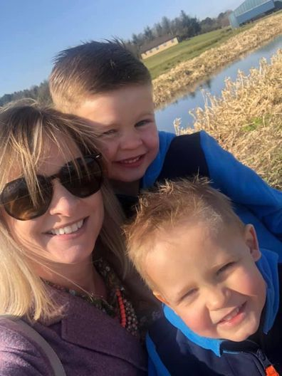 Rachel cervical cancer with children