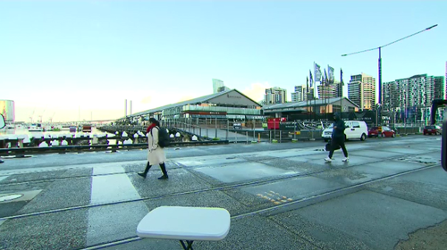 Hundreds of diners were evacuated from Central Pier yesterday amid fears the location would sink.