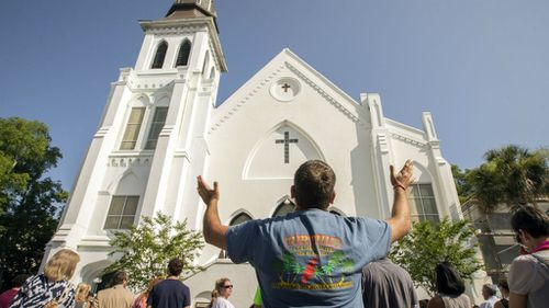 First service held at Charleston church since shooting massacre